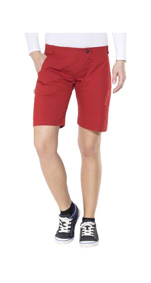 Edelrid Rope Rider korte broek Dames rood